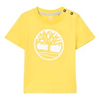 Timberland Yellow Branded Tree Logo Tee 544