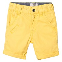 Timberland Yellow Cotton Chino Shorts 544