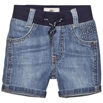 Timberland Blue Stone Wash Denim Bermuda Shorts Z03