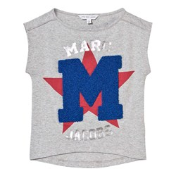 The Marc Jacobs Grey Chenille M Branded Tee