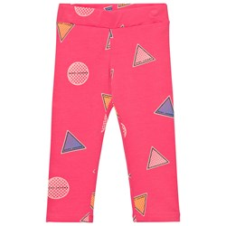 The Marc Jacobs Pink Branded Badge Leggings