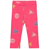 Little Marc Jacobs Pink Branded Badge Leggings 46C