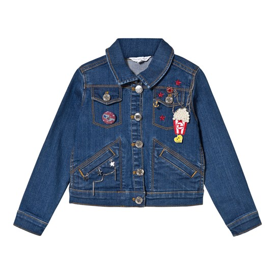 Little Marc Jacobs Blue Charm Denim Jacket Z10