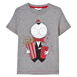 The Marc Jacobs Grey Mr Marc Popcorn Tee