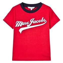 The Marc Jacobs Red Script Branded Tee