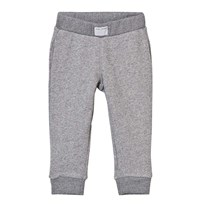 Little Marc Jacobs Grey Marl Branded Pocket Sweat Pants A64