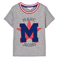 Little Marc Jacobs Grey Chenille Tee A64