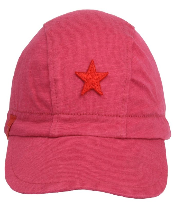 Kik Kid Cap Irr Yarn Pink Red