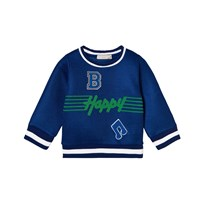 Stella McCartney Kids Happy Musical Note Mesh Sweatshirt 4861