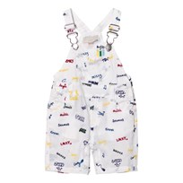 Stella McCartney Kids Dungarees with Embroidered Names 9085