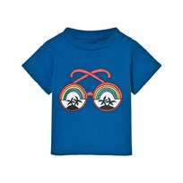 Stella McCartney Kids Blue Rainbow Sunglasses Tee 4861