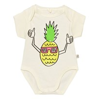 Stella McCartney Kids Cassidy Big Pineapple Print Baby Body Vit 9232