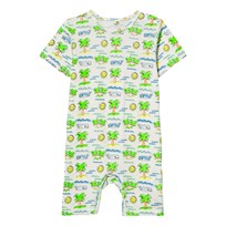 Stella McCartney Kids Beach Print Romper 9577