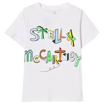 Stella McCartney Kids Branded Stella T-shirt Vit 9082