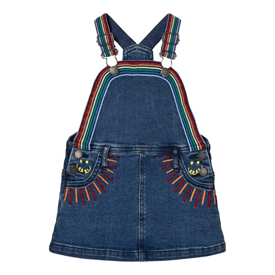 Stella McCartney Kids Sunflower Dress Rainbow Embroidery 4161