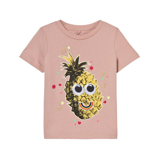 Stella McCartney Kids Chuckle Tee with Pineapple Print 5768