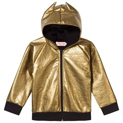 Wauw Capow Metallic Gold Fever Hooded Jacket