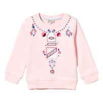 Kenzo Pink Necklace Effect Sweatshirt 32