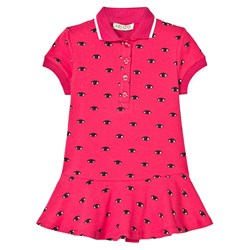 Kenzo Hot Pink Polo Dress