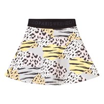 Kenzo Animal Print Skirt Multi Colour 32