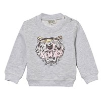 Kenzo Fabric Tiger Sweatshirt Grey Marl 32