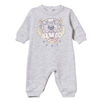 Kenzo Grey Tiger Embroidered One-piece 294