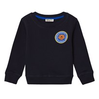 Kenzo Navy Tiger and Badge Print Sweatshirt 04