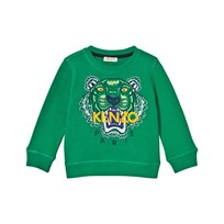 Kenzo Embroidered Tiger Sweatshirt Green 54