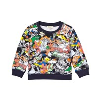 Kenzo Multi All Over Print Sweatshirt 92