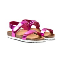 Mayoral Pink Metallic Velcro Sandals 72
