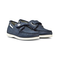 Mayoral Navy Nubuck Velcro Deck Shoes 95