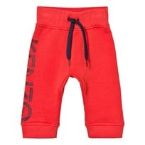 Kenzo Branded Sweatpants Orange 36