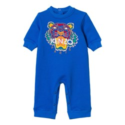Kenzo Blue Tiger Embroidered One-piece