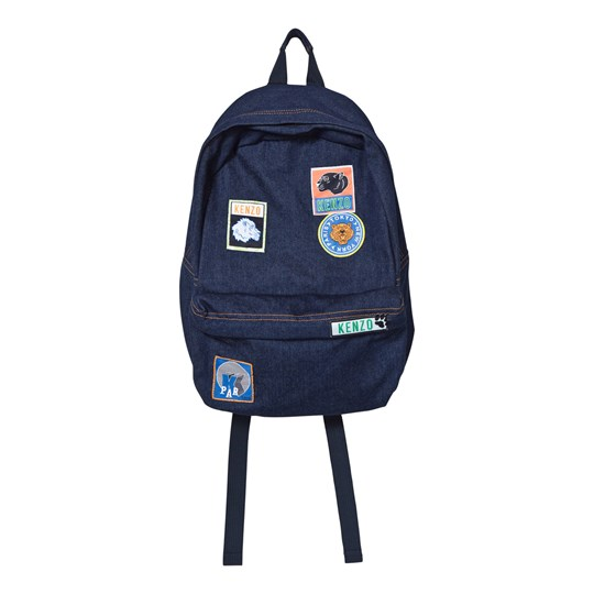 Kenzo Indigo Denim Backpack 460