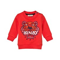Kenzo Orange Tiger Emrbroidered Sweatshirt 36