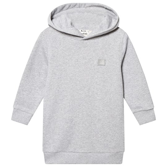 Acne Studios Mini Yala Hooded Sweater Grey Melange Grey Melange