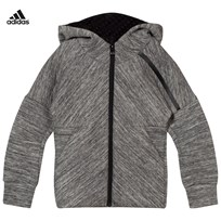 adidas Grey Zone Hoodie STORM HEATHER
