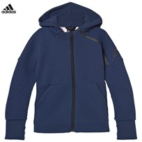 adidas Blue Zone Hoodie MYSTERY BLUE