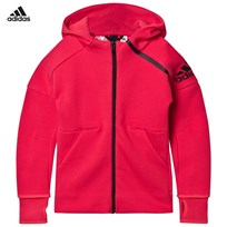 adidas Hot Pink Zone Hoodie CORE PINK