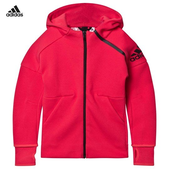 adidas Performance Hot Pink Zone Hoodie CORE PINK