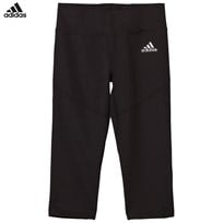 adidas Black Capri Leggings Black