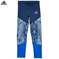 adidas Blue Leggings MYSTERY BLUE