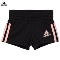 adidas Black Knitted Shorts Black