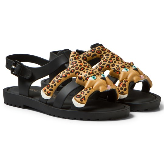 Mini Melissa Mini Flox Jeremy Scott Sandals Black