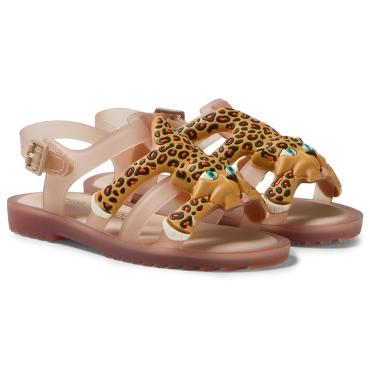 Mini Melissa Mini Flox + Jeremy Scott Sandals Nude 51516