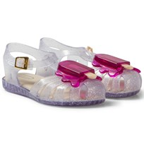 Mini Melissa Mini Aranha Lollypop Clear Glitter 50490