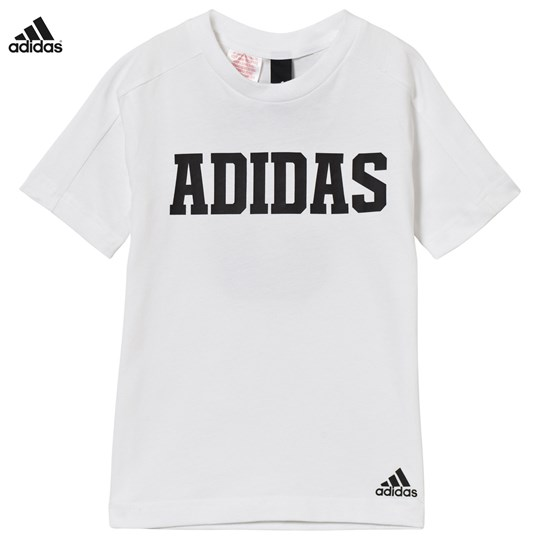 adidas Performance White Branded Xcite Tee White