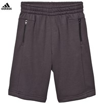 adidas Black Long Sweat Shorts UTILITY BLACK