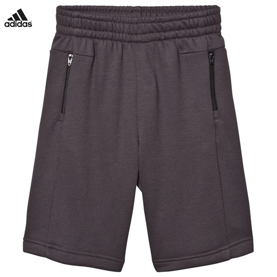adidas Performance Black Long Sweat Shorts UTILITY BLACK