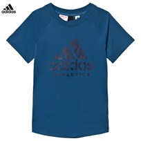adidas Blue Branded Tee CORE BLUE